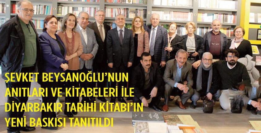 """""""Anıtları ve Kitabeleri ile Diyarbakır Tarihi"""" kitabının yeni baskısı tanıttık."""